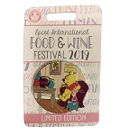 Disney Food & Wine Festival Pin - 2019 Winnie the Pooh and Piglet