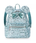 Disney Loungefly Backpack - Minnie Mouse Sequin - Arendelle Aqua