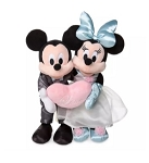 Disney Plush Set - Mickey and Minnie Mouse Wedding
