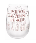 Disney Stemless Wine Glass - 2019 Epcot Food and Wine Festival