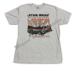 Disney Shirt for Adults - 2019 Star Wars Galaxy's Edge Landing - Gray