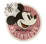 Disney Car Magnet - Minnie Mouse - Walt Disney World - Passholder