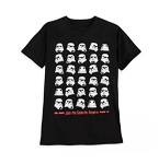 Disney T-Shirt for Men - Stormtrooper Helmets - Star Wars
