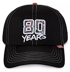 Disney Hat - Baseball Cap - Marvel - 80th Anniversary