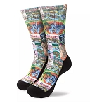 Disney Socks for Men - Magic Kingdom Map - Disney Parks