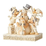 Disney Jim Shore Figure - Fab Four - Frosty Friendship