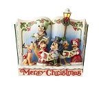 Disney Jim Shore Figure - Merry Christmas - Storybook Christmas Carol
