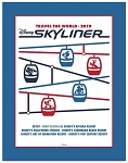 Disney Deluxe Art Print - Disney Skyliner - Walt Disney World