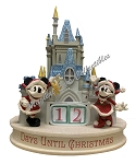 Disney Christmas Countdown Calendar - Mickey & Minnie Castle