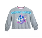 Disney Pullover for Women - The Mickey Mouse Club Crop Top