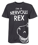 Disney Shirt for Adults - I'm a Nervous Rex - Toy Story