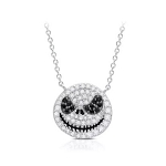 Disney Crislu Necklace - Jack Skellington Pavé