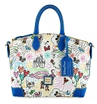 Disney Dooney & Bourke Bag - Mickey Mouse Sketch - Blue Satchel