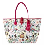 Disney Dooney & Bourke Bag - Mickey Mouse Sketch - Red Tote