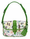 Disney Dooney & Bourke Bag - Mickey Mouse Sketch - Green Crossbody