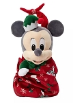 Disney Babies Plush in Pouch  - Mickey Mouse Holiday - 12