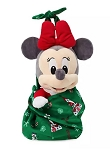 Disney Babies Plush in Pouch  - Minnie Mouse Holiday - 12