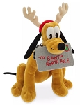 Disney Plush - 2019 Pluto Holiday - Medium