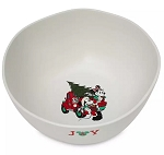 Disney Holiday Serving Bowl - Farmhouse - Mickey and Minnie