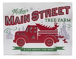 Disney Holiday Sign - Mickey Main Street Tree Farm - Light Up