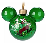 Disney Mickey Ears Icon Ornament - Goofy Light-Up - Merry and Bright