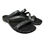 Disney Women Sandals - Crocs - Mickey and Minnie Graphics - Black and White