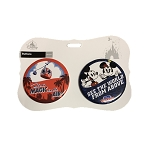 Disney Souvenir Button Set - Disney Skyliner - Magic in the Air - Set of 2