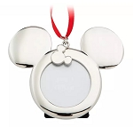 Disney Photo Frame Ornament - Mickey Mouse Icon - Metal