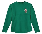 Disney Spirit Jersey for Girls - Holiday Santa Minnie Mouse - Green