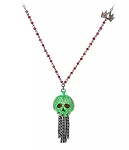 Disney Betsey Johnson Necklace - Evil Queen Poisoned Apple Pendant