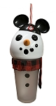Disney Tumbler with Straw - Mickey Mouse Club Snowman - Light Up