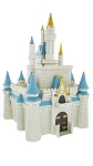 Disney Playset - Cinderella Castle Monorail Toy Accessory