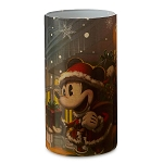 Disney Light Up Candle - Turn of the Century - Mickey and Minnie Mouse