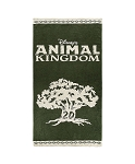 Disney Beach Towel - Animal Kingdom 20th Anniversary