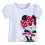 Disney Shirt for Baby - Minnie Mouse Bow - Walt Disney World - White