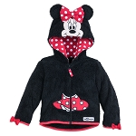 Disney Jacket for Girls - Minnie Mouse Hooded Fleece - Disney World