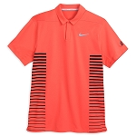 Disney Polo Shirt for Men - Nike Golf Mickey Mouse - Coral Stripe