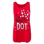 Disney Tank Top for Women - It's All About the Dot - Minnie Mouse