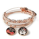 Disney Alex & Ani Bracelet Set - Minnie Mouse - Don't Mess with the Bow