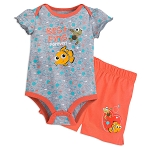 Disney Bodysuit and Shorts Set for Baby - Finding Nemo - Nemo & Squirt