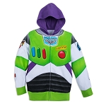 Disney Zip Hoodie for Kids - Buzz Lightyear Costume - Fleece