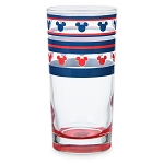 Disney Glass Tumbler - Mickey Mouse Americana - Tall
