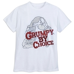 Disney Shirt for Men - Grumpy - Grumpy by Choice - White