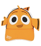 Disney Hat - Baseball Cap - Nemo with Fins - Youth