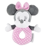 Disney Baby Toy - Minnie Mouse Plush Rattle - Pink