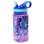 Disney Water Bottle - Stitch with Built-In Straw