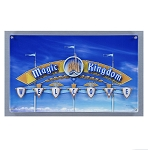 Disney Wall Sign - Magic Kingdom Welcome Sign - Acrylic