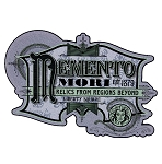Disney Wall Sign - The Haunted Mansion - Memento Mori