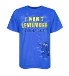 Disney Shirt for Adults - Finding Dory - I Wont Remember any of This