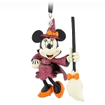 Disney Figural Ornament - Halloween - Minnie Mouse Witch